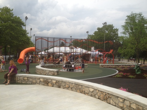 Jackson Square Lorber Family Playground now open!