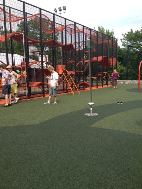 Jackson Square Playground: Wallholla, designed by Carve and distributed by Goric